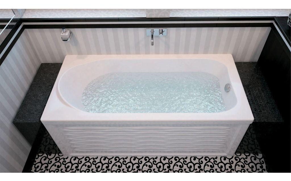 Акриловая ванна Aquanet Nord 160x70 самому нарисовать ванную комнату